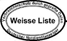 Schlüsseldienst - Weisse Liste im Internet